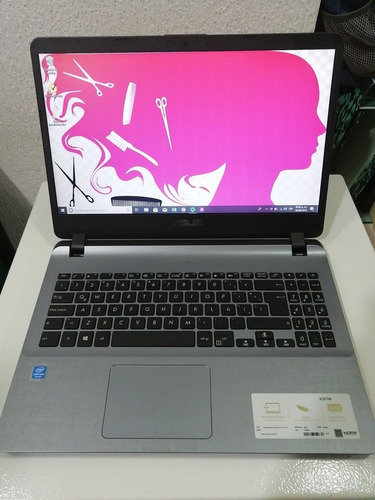 laptop asus x507ma gris