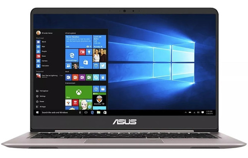 laptop asus zenbook ux410ua intel core i3 4gb ssd 128gb pantalla 14 windows 10 home ultra ligera elegante diseño slim