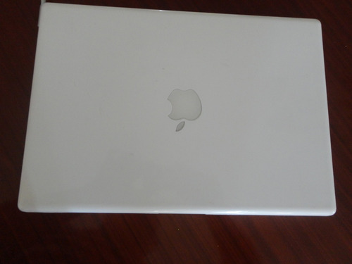 laptop blanca macbook a1181 para repuesto