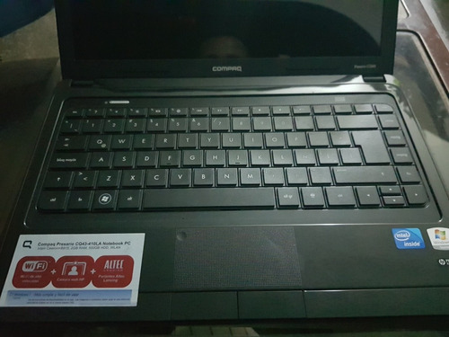 laptop compag cq43-410la