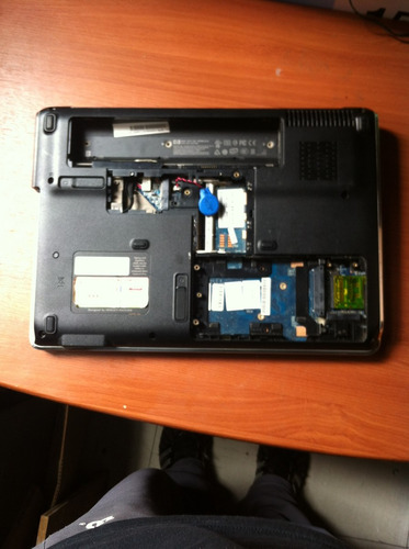 laptop compaq carcas
