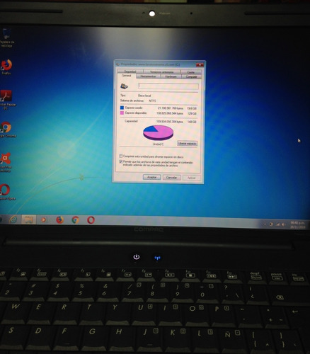 laptop compaq presario cq40