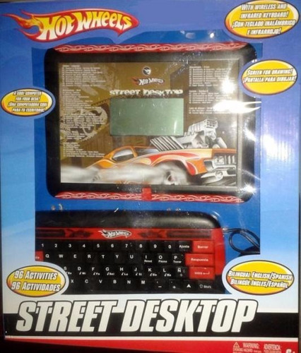 laptop computadora escritorio hot wheels netbook