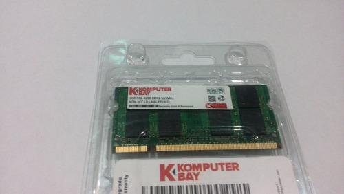 laptop ddr2 1gb. memoria para