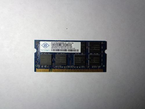 laptop ddr2 memoria para