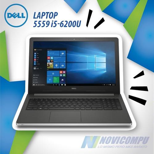 laptop dell 5559 i5-6200u +1tb +8gb +15.6  touch win10+ bt