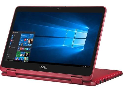 laptop dell amd a6 2 en 1 4gb ram 64gb tactil win10 11.6´