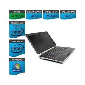 Laptop Dell E6420 Intel I5/4gb Ram/250gb Hdmi Grado Aaa