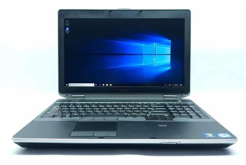 laptop dell e6520 core i7 6 ram 320gb