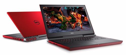 laptop dell  inspiron 15 7000 gaming 7ma gen i7 8gb 1tb 4gb
