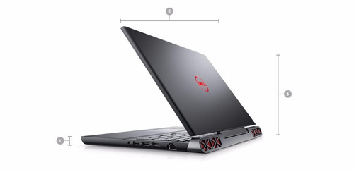 laptop dell  inspiron 15 7000 gaming 7ma gen i7 8gb 1tb 4gb
