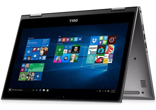 laptop dell inspiron 5368 core i3 8gb 500gb 13 touch tablet