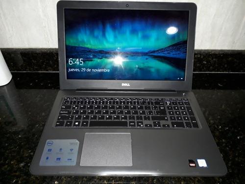 laptop dell inspiron 5567 intel core i7 8gb ram