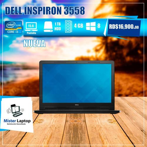 laptop dell inspiron/ intel core i3/ 4gb / 1tb hdd/  nueva