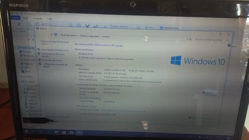laptop dell inspiron n5010
