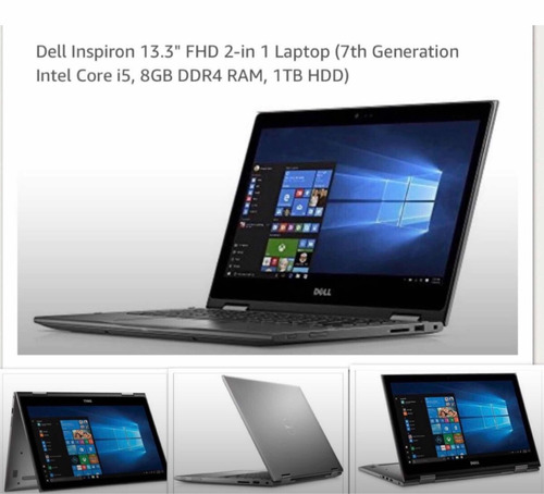 laptop dell inspiron touchscreen