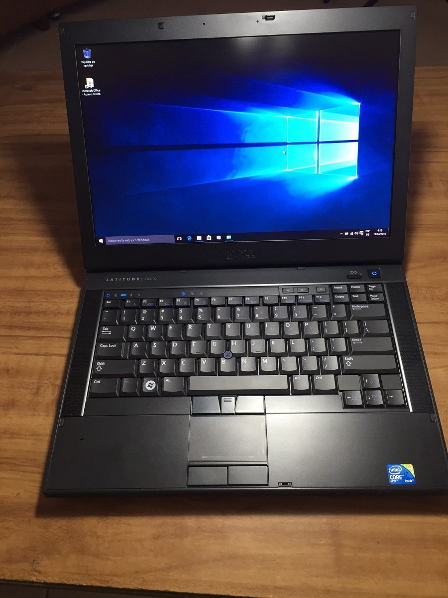 laptop dell latitude e6410 intel core i7 win10 office