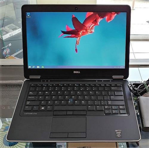 laptop dell latitude e7440 8gb ram / i5 /sshd teclado ilumin