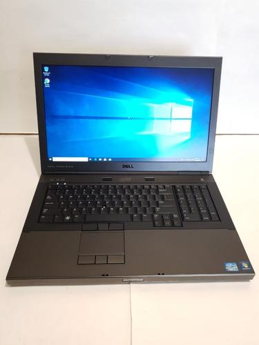 laptop dell m6600 core i7 2da 8gb ram 256gb ssd 2gb video