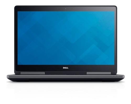 laptop dell precision 7710 intel core i7 16gb 1tb pantalla 17 nvidia quadro m4000m renders 3d diseño edicion video