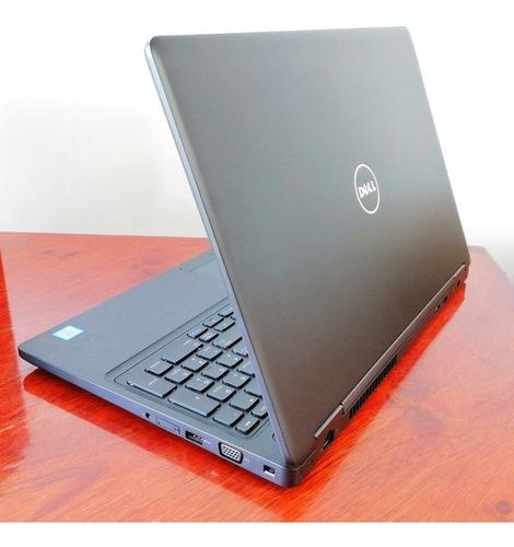laptop dell precision core i7, 16gb ram, 512gb ssd, nvidia.