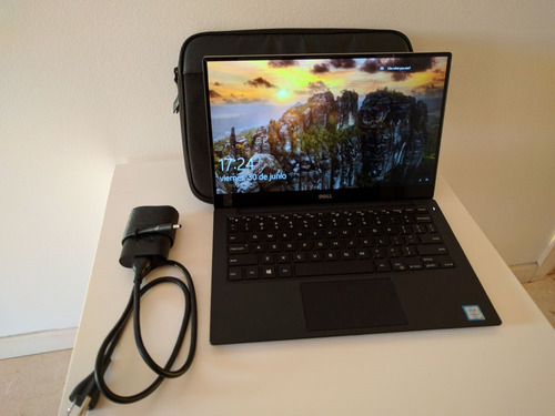 laptop dell xps 13 9350 256gb ssd 8gb intel i5 touchscreen