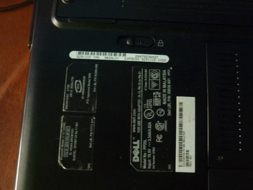 laptop dell xps model pp25l