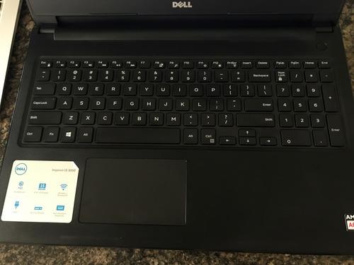 laptop dell15.6 , 7th gen.  procesador amd dual-core a62,5