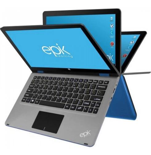 laptop epik 11.6 ell1102-bl win10 2gb ram 2 gb int azul
