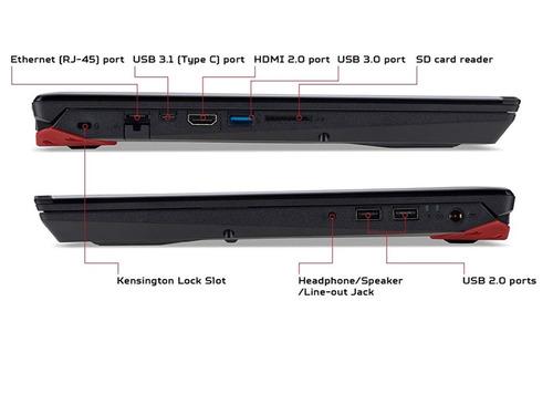 laptop gamer acer predator helios 300 i7-8750h gtx 1060 6gb