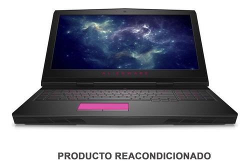 laptop gamer dell alienware 17 r4 intel core i7 7700hq 16gb 1tb ssd 128gb pantalla 17 full hd nvidia geforce gtx 1070