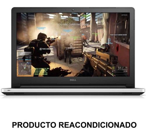 laptop gamer dell inspiron 5558 i3 5015u 6gb 1tb 15.6 blanco