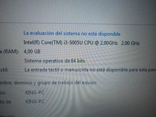 laptop gamer hp notebook i3 5ta gen 4gb ram - 2gb video