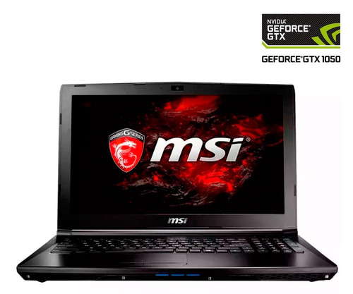 laptop gamer msi gl62 intel i5 8gb nvidia geforce gtx 1050