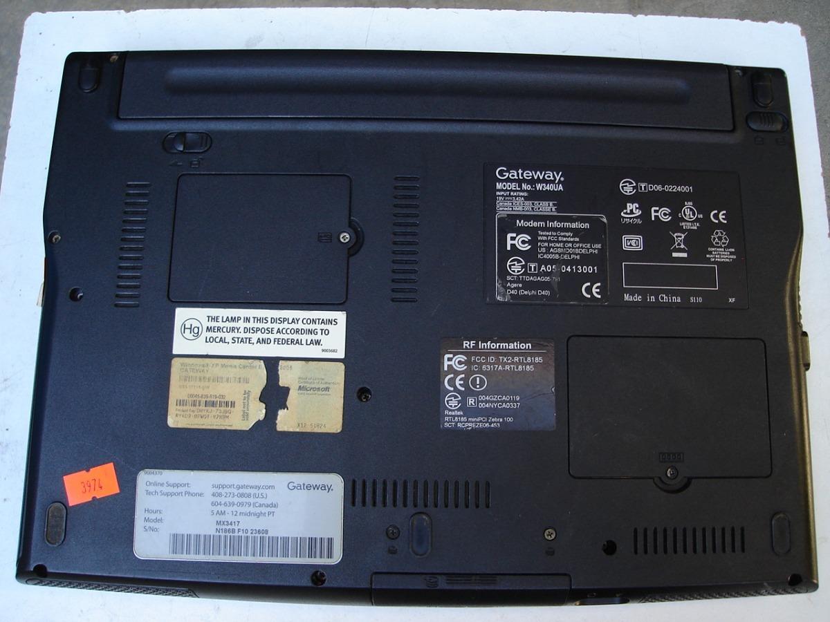 GATEWAY MX1020 AGERE MODEM DRIVERS UPDATE