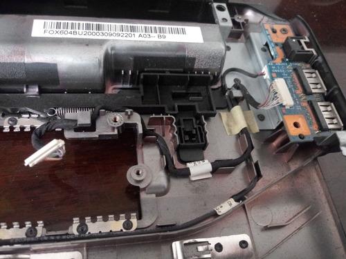 laptop gateway nv53 dañada,  por piezas