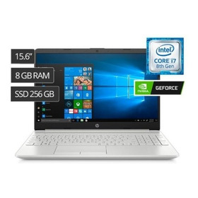 Laptop Hp 0004la I7 15.6' 8gb 256ssd Video 2gb Mx130