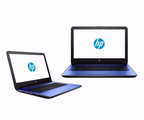 laptop hp 14 amd a8 radeon r5 1tb ram exp 16gb + regalos