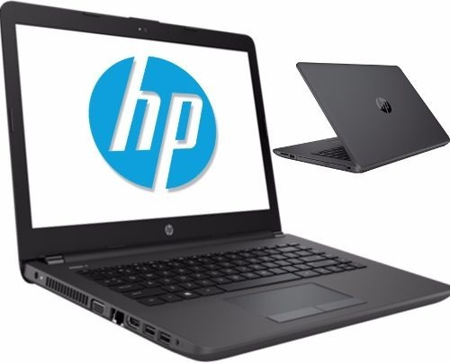 laptop hp 14 intel dual core celeron 500gb 4gb garantia, i3