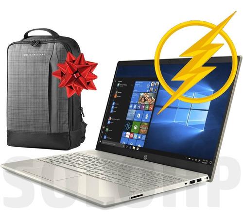 laptop hp 15 especial* core_i5 512 ssd + 32 optane w10 v2020