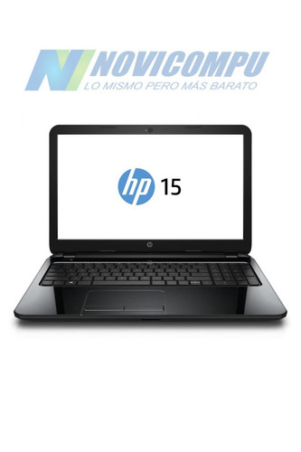 laptop hp 15-f233 intel n3050 4gb 500gb w10 dvd tec numerico
