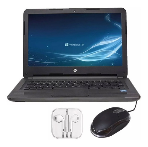 laptop hp 240 g5 intel celeron ram 4gb dd 500gb + regalos