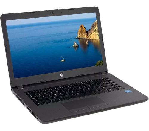 laptop hp 240 g6 intel dual core 4gb 500gb 14 wifi 2tb nube
