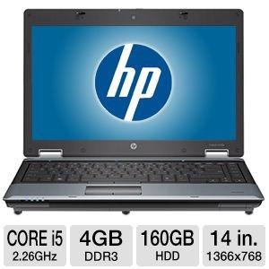 laptop hp 6550b core i5/4gb/160 rd$ 10,800.00