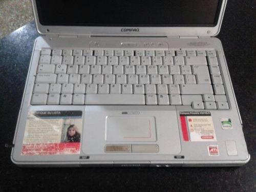 laptop hp compaq presario v2000 - completamente funcional