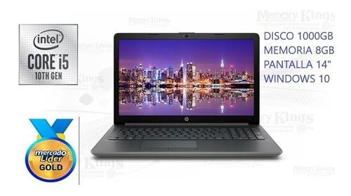 laptop hp core i5 10ma generacion disco 1tb./8gb/14 /w10 i7