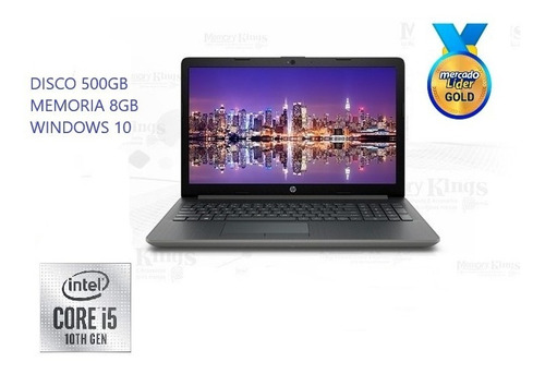 laptop hp core i5 10ma generacion disco 500gb/8gb/14/w10 i7