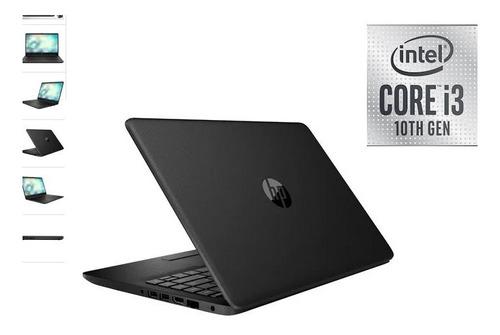 laptop hp core_i3 10ma gen 4g_ram 1tb 14p ññ black