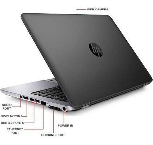 laptop hp-elitebook 840 pantalla táctil ci5. 16gb. ssd. 14''