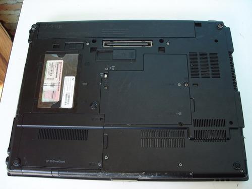 laptop hp elitebook 8530w intel core2duot9600 2.8ghz 4gb 250